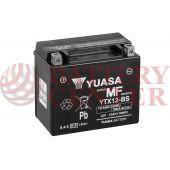 Μπαταρία Yuasa YTX12-BS 12V MF Battery Capacity 20hr 10.5 (Ah):EN1 (Amps): 180 CCA