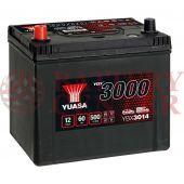 Μπαταρία Αυτοκινήτου YUASA YBX3014 12V 60Ah 500A Yuasa SMF Battery