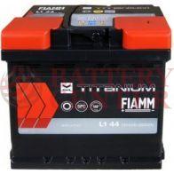 Μπαταρία Fiamm Titanium Black L1 44 12V Capacity 20hr 44(Ah) EN (Amps) 360EN Εκκίνησης