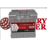 Μπαταρία Fiamm Titanium Pro L1 50P 12V Capacity 20hr 50(Ah) EN (Amps) 460EN Εκκίνησης