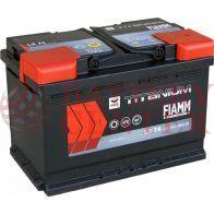 Μπαταρία Fiamm Titanium Black L3 74 12V Capacity 20hr 74(Ah) EN (Amps) 640EN Εκκίνησης