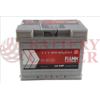 Μπαταρία Fiamm Titanium Pro L2 60P 12V Capacity 20hr 60(Ah) EN (Amps) 540EN Εκκίνησης
