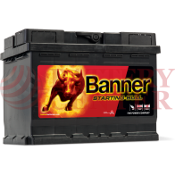 Μπαταρία Banner Starting Bull 56219 12V Capacity 20hr 62(Ah) EN (Amps) 510EN Εκκίνησης