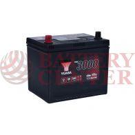Μπαταρία Αυτοκινήτου YUASA YBX3214 12V 60Ah 540A Yuasa SMF Battery
