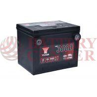 Μπαταρία Αυτοκινήτου YUASA YBX3750 12V 66Ah  660A Yuasa SMF Battery