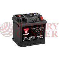 Μπαταρία Αυτοκινήτου YUASA YBX1012 12V 45Ah 380A Yuasa Ca Ca Battery