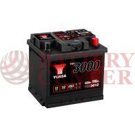 Μπαταρία Αυτοκινήτου YUASA YBX3012 12V 52Ah 450A Yuasa SMF Battery