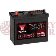 Μπαταρία Αυτοκινήτου YUASA YBX3057 12V 45Ah 400A Yuasa SMF Battery