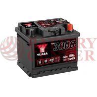 Μπαταρία Αυτοκινήτου YUASA YBX3063 12V 45Ah 440A Yuasa SMF Battery