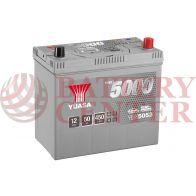 Μπαταρία Αυτοκινήτου YUASA YBX5053 12V 50Ah 450A Yuasa Silver High Performance Battery