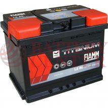 Μπαταρία Fiamm Titanium Black L2 60 12V Capacity 20hr 60(Ah) EN (Amps) 510EN Εκκίνησης