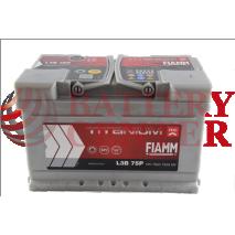 Μπαταρία Fiamm Titanium Pro L3Β 75P 12V Capacity 20hr 75(Ah) EN (Amps) 730EN Εκκίνησης