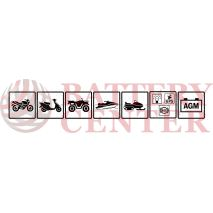 Μπαταρία Μοτοσυκλέτας BS-BATTERY  BTX14L-BS  MF 12.6AH 200EN Αντιστοιχία YTX14L-BS