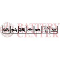 Μπαταρία Μοτοσυκλέτας BS-BATTERY  BTX14AHL-BS  MF 12.6AH 210EN Αντιστοιχία YTX14AHL-BS