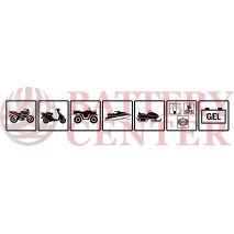 Μπαταρία Μοτοσυκλέτας BS-BATTERY BT12A  SLA 10.5AH 175EN Αντιστοιχία YT12A-BS