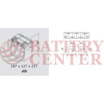 Μπαταρία Αυτοκινήτου YUASA YBX3055 12V 36Ah 330A Yuasa SMF Battery