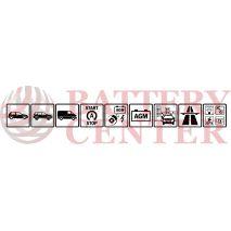 Μπαταρία Αυτοκινήτου YUASA YBX9012 12V 50Ah 520A Yuasa AGM Start Stop Plus Battery