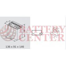 Μπαταρία Μοτοσυκλέτας BS-BATTERY  BB10L-B  DRY 11.6AH 130EN Αντιστοιχία YB10L-B