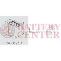 Μπαταρία Μοτοσυκλέτας BS-BATTERY  BB3L-B  DRY 3.2AH 30EN Αντιστοιχία YB3L-B
