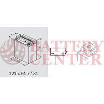 Μπαταρία Μοτοσυκλέτας BS-BATTERY  BB5L-B  DRY 5.3AH 65EN Αντιστοιχία YB5L-B