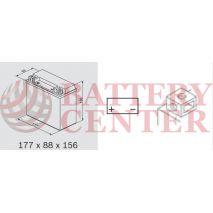 Μπαταρία Μοτοσυκλέτας BS-BATTERY  BTX20-BS  MF 18.9AH 270EN Αντιστοιχία YTX20-BS