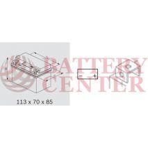 Μπαταρία Μοτοσυκλέτας BS-BATTERY  BTX4L-BS+  MF 4.2AH 50EN Αντιστοιχία YTX4L-BS