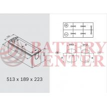 Μπαταρία Banner 650 11 Buffalo Bull High Current  12V Capacity 20hr 150(Ah):EN (Amps): 1150EN Εκκίνησης