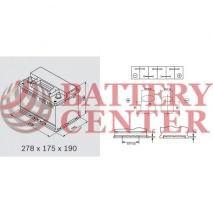 Μπαταρία Varta Black Dynamic E13 12V Capacity 20hr 70(Ah):EN (Amps): 640EN Εκκίνησης
