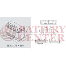 Μπαταρία Αυτοκινήτου OMNITECH Premium Power 12V L5 100 Capacity 20hr  100(Ah):EN (Amps): 830EN Εκκίνησης