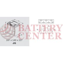 Backup & Specialist Batteries Yuasa Auxiliary HJ-S34B20L-A GS Yuasa Auxiliary AGM Battery