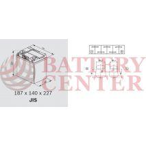 Μπαταρία Varta Blue Dynamic A14 12V Capacity 20hr 40 (Ah):EN (Amps): 330EN Εκκίνησης