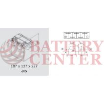 Μπαταρία Αυτοκινήτου OMNITECH Premium Power 12V B19L Capacity 20hr 40(Ah):EN (Amps): 340EN Εκκίνησης