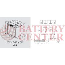Μπαταρία Αυτοκινήτου Omnitech Batteries High Performance B19R EFB 40 Start Stop 12V  Capacity 20hr 40(Ah):EN (Amps): 400EN Εκκίνησης