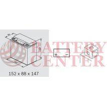 OMNITECH Batteries Auxiliary Equipment 12V Capacity 20hr 14(Ah):EN (Amps): 240EN Εκκίνησης