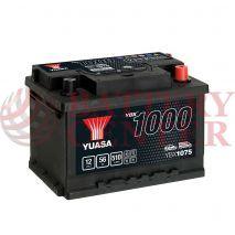 Μπαταρία Αυτοκινήτου YUASA YBX1075 12V 56Ah 510A Yuasa SMF Battery