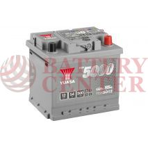 Μπαταρία Αυτοκινήτου YUASA YBX5012 12V 54Ah 500A Yuasa Silver High Performance Battery