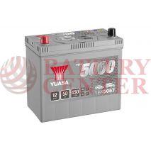 Μπαταρία Αυτοκινήτου YUASA YBX5057 12V 50Ah 450A Yuasa Silver High Performance Battery