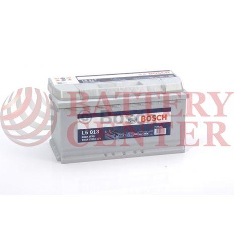 Μπαταρία Bosch L5013 Leisure Deep Cycle Professional Dual Purpose  12V Capacity 20hr 90 (Ah):EN (Amps): 800EN Εκκίνησης