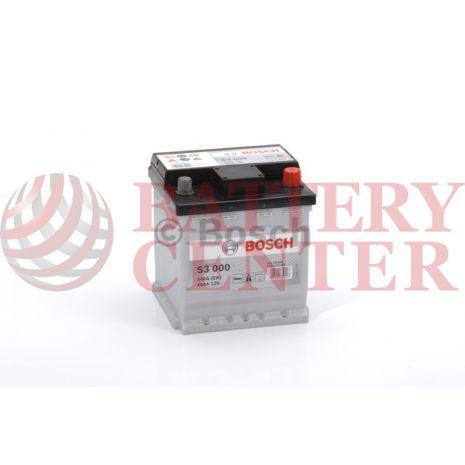 Μπαταρία Bosch  S3000 12V Capacity 20hr 40 (Ah):EN (Amps): 340EN Εκκίνησης