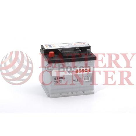 Μπαταρία Bosch  S3003 12V Capacity 20hr 45 (Ah):EN (Amps): 400EN Εκκίνησης