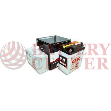 Μπαταρία Μοτοσυκλέτας GK Batteries Conventional 12V 14AH YB14L-A2