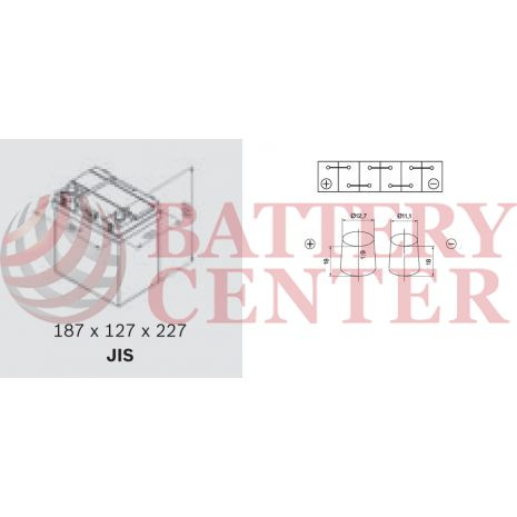Backup & Specialist Batteries Yuasa Auxiliary HJ-S34B20R GS Yuasa Auxiliary AGM Battery